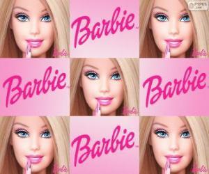 Puzle Colagem de Barbie