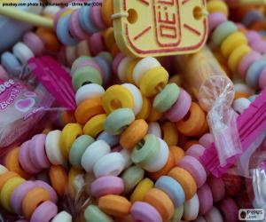 Puzle Colar de doces