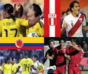 Puzle Colômbia - Peru, quartas, Argentina 2011