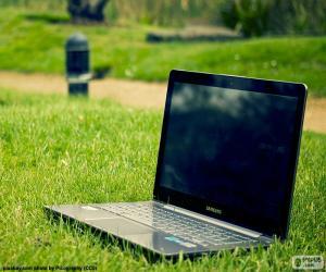 Puzle Computador portátil, laptop