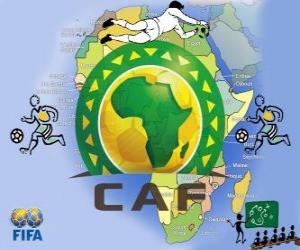 Puzle Confederação Africana de Futebol (CAF)