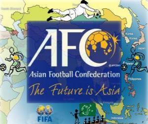 Puzle Confederação Asiática de Futebol (AFC)