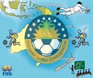 Puzle Confederação de Futebol da Oceania (OFC)