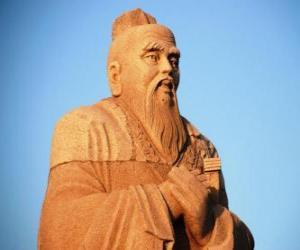 Puzle Confúcio, filósofo chinês, fundador do Confucionismo
