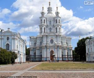Puzle Convento Smolny, Rússia