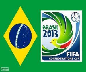 Puzle Copa das Confederações FIFA de 2013 (Brasil)