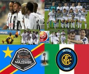 Puzle Copa do Mundo de Clubes da Final de 2010 - TP Mazembe Englebert vs Internazionale Milano FC -