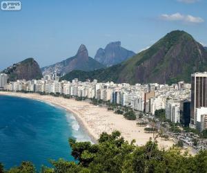 Puzle Copacabana, Rio, Brasil