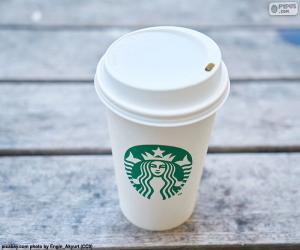 Puzle Copo de Starbucks