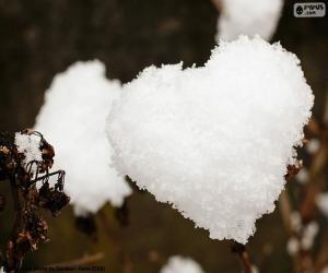Puzle Coração de neve