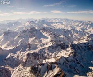 Puzle Cordilheira dos Andes