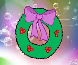 Puzle Coroa de Natal