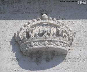 Puzle Coroa esculpida