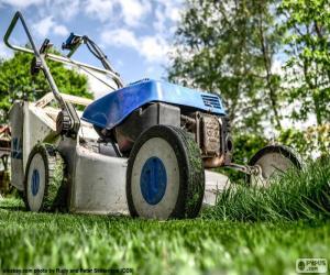 Puzle Cortador de grama ou corta-relva