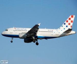 Puzle Croatia Airlines, a companhia aérea nacional da Croácia