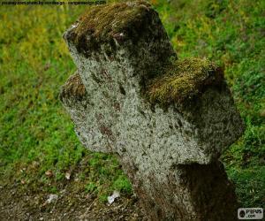 Puzle Cruz de pedra