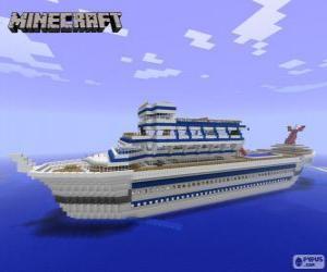 Puzle Cruzeiro de Minecraft