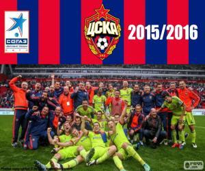 Puzle CSKA Moscou, campeão de 2015-16