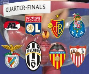 Puzle CUEFA Europa League, quartas de final 2013-14
