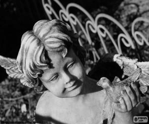 Puzle Cupido de pedra