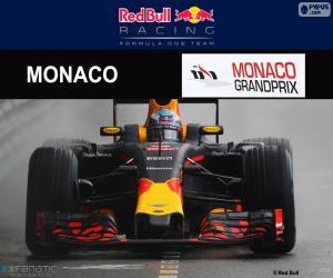 Puzle D. Ricciardo, G. P de Mônaco 2016