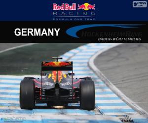 Puzle D. Ricciardo, GP Alemanha de 2016