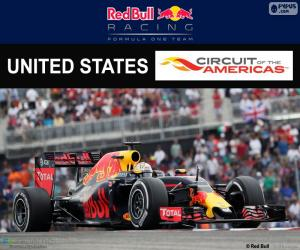 Puzle D. Ricciardo, GP Estados Unidos 16