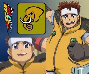 Puzle Daigo Takayama de Scan2Go tem o poder do elefante