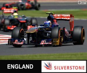 Puzle Daniel Ricciardo - Toro Rosso - Silverstone, 2013