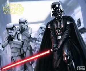 Puzle Darth Vader, Star Wars