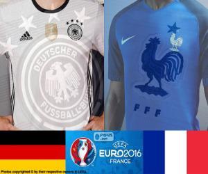 Puzle DE-FR, meias-finais Euro 2016