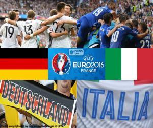 Puzle DE-IT, quartas de final Euro 2016