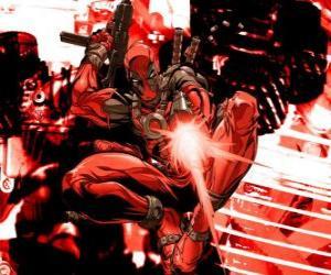 Puzle Deadpool é um mercenário ou um vilão ou um anti-herói