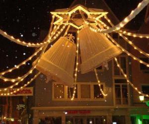 Puzle Decoração de Natal sinos