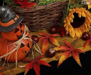 Puzle Decoração para Halloween