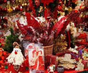 Puzle Decorações de Natal