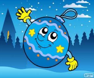 Puzle Desenho de bola de Natal