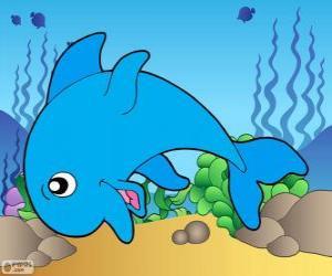 Puzle Desenho de golfinho