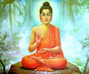 Puzle Desenho do Buda Gautama