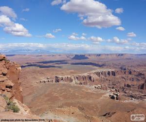 Puzle Deserto de Utah, Estados Unidos