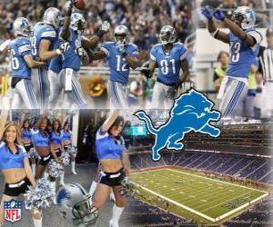 Puzle Detroit Lions