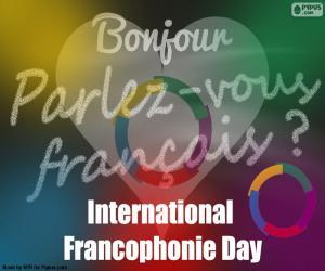 Puzle Dia da língua francesa