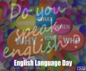 Puzle Dia da língua inglesa
