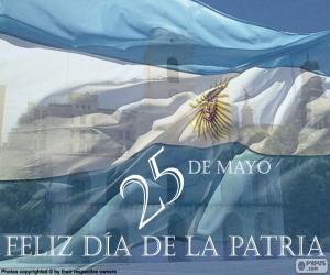 Puzle Dia da pátria Argentina