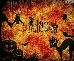 Puzle Dia de Halloween