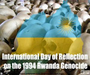Puzle Dia de reflexão sobre o genocídio de Ruanda de 1994