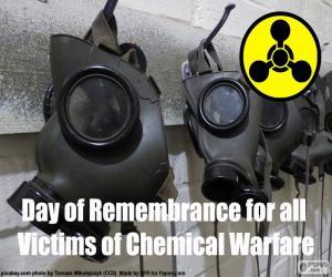 Puzle Dia em Memória das Vítimas da Guerra Química