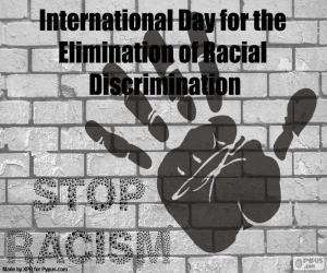 Puzle Dia Internacional contra a Discriminação Racial