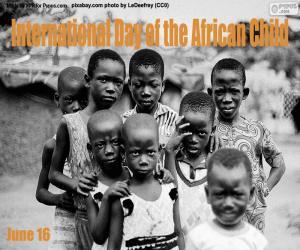 Puzle Dia Internacional da Criança Africana