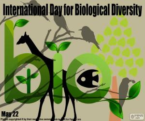 Puzle Dia internacional da diversidade biológica